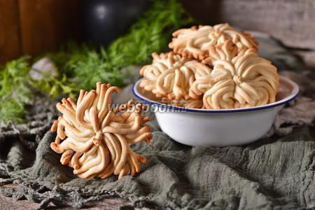 Печенье Мимоза через мясорубку
