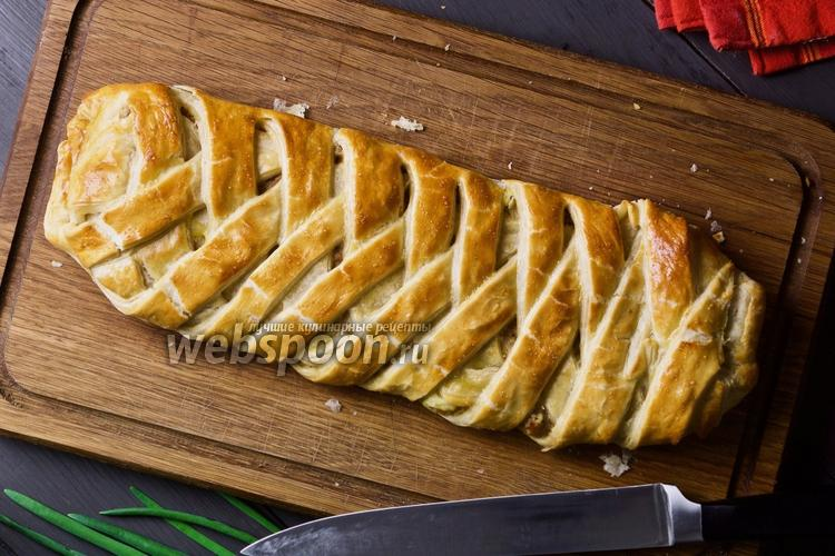 Фото Пирог с картошкой и фаршем