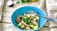 Фото рецепта Салат с картофелем и скумбрией