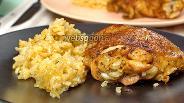 Фото рецепта Рис с курицей на сковороде