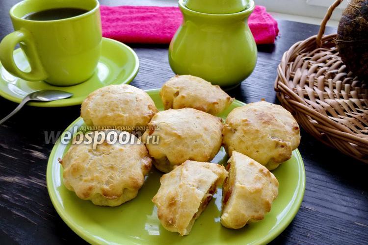 Фото Кексы с кокосовым маслом