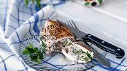 Фото рецепта Куриная грудка фаршированная вешенками