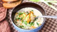 Фото рецепта Суп из вёшенок с льезоном