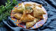 Фото рецепта Слойки с картофелем и грибами