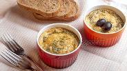 Фото рецепта Фриттата с грибами и сыром