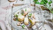 Фото рецепта Ньокки в сливочном соусе с грибами