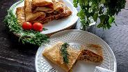 Фото рецепта Цельнозерновые блины с рисом и грибами
