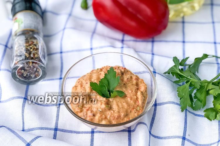 Фото Соус из печёных овощей