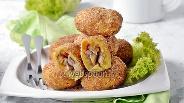 Фото рецепта Зразы картофельные с грибами в духовке
