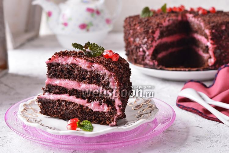 Фото Постный торт