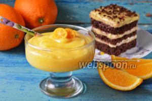 Постный апельсиновый крем