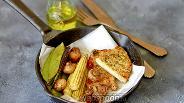 Фото рецепта Стейк из индейки с овощами