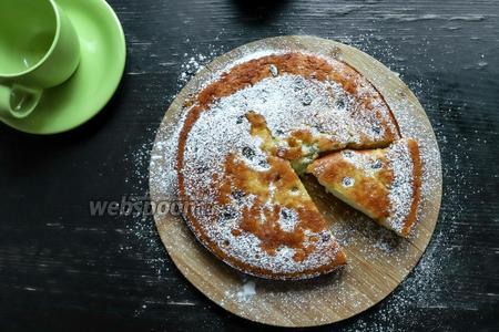 Пирог из кокосовой муки