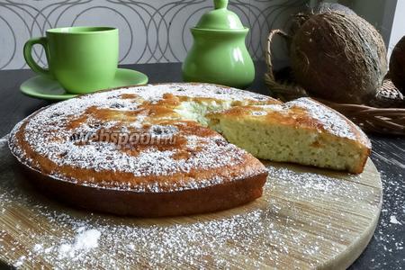 Пирог готов, по желанию можно присыпать сахарной пудрой (10 г), приятного аппетита!