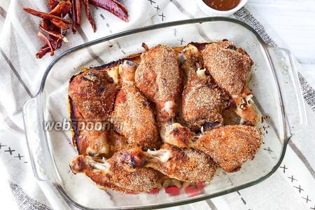 Курица в сладко-остром маринаде
