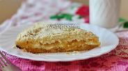 Фото рецепта Творожно-яблочный пирог