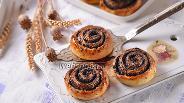 Фото рецепта Творожные булочки с маком