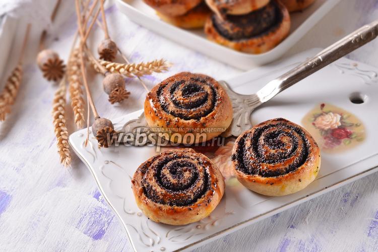 Фото Творожные булочки с маком