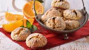 Фото рецепта Итальянское апельсиновое печенье