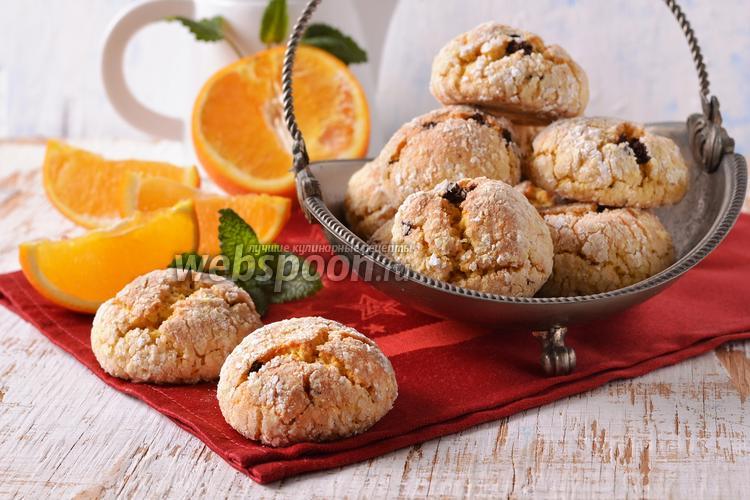 Фото Итальянское апельсиновое печенье