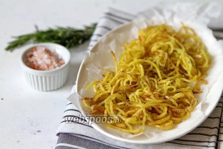 Спагетти картофельные с розмарином