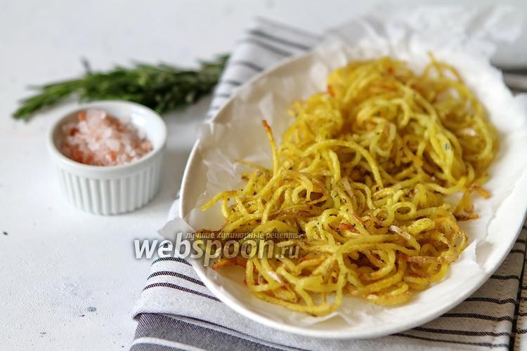 Фото Спагетти картофельные с розмарином