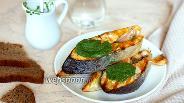 Фото рецепта Горбуша в шпинатном соусе