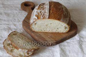 Хлеб «Французская булка» готов. Приятного вам аппетита.