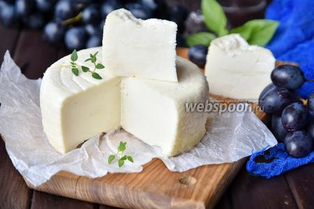 Фото рецепта Имеретинский сыр