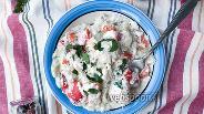 Фото рецепта Фрикасе из курицы с овощами