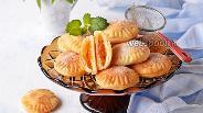 Фото рецепта Творожное печенье с курагой