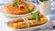 Фото рецепта Блины картофельно-сырные дрожжевые