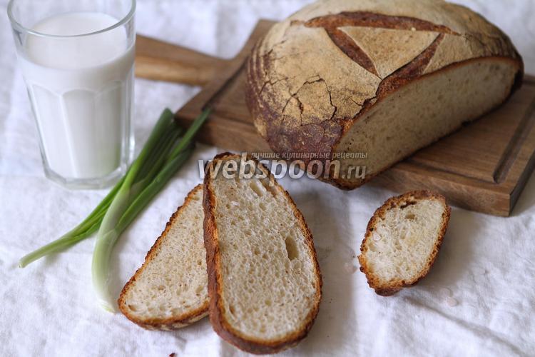 Фото Картофельный хлеб на закваске