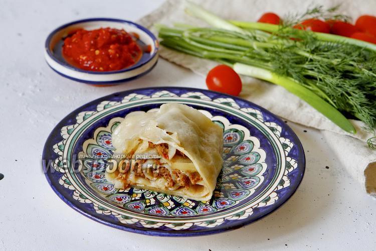 Фото Ханум с мясом и картошкой