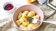 Фото рецепта Апельсиновые ленивые вареники