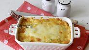 Фото рецепта Макароны запечённые с цукини под сыром