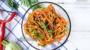 Фото рецепта Кабачки с морковью по-корейски