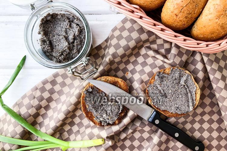 Фото Паштет из шампиньонов с грецкими орехами