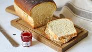 Фото рецепта Белый хлеб для тостов на пшеничной закваске