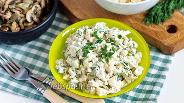 Фото рецепта Салат из цветной капусты с огурцом