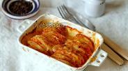 Фото рецепта Картошка с помидорами и сыром моцарелла в духовке