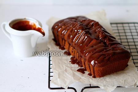 Шоколадный кекс на оливковом масле и рисовой муке