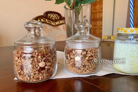Шоколадно-ореховая гранола