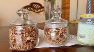 Фото рецепта Шоколадно-ореховая гранола
