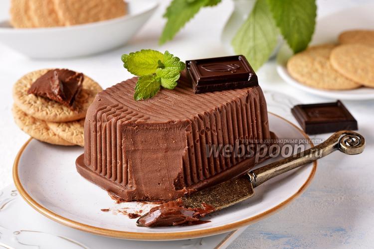 Фото Шоколадное масло из шоколада