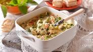 Фото рецепта Овощная смесь под сырным соусом