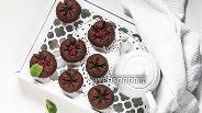 Фото рецепта Постное шоколадно-вишнёвое печенье