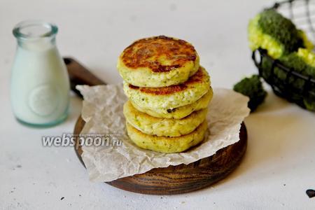 Сырники с брокколи