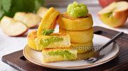 Фото рецепта Творожники с яблоками