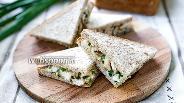 Фото рецепта Клаб сэндвич с курицей